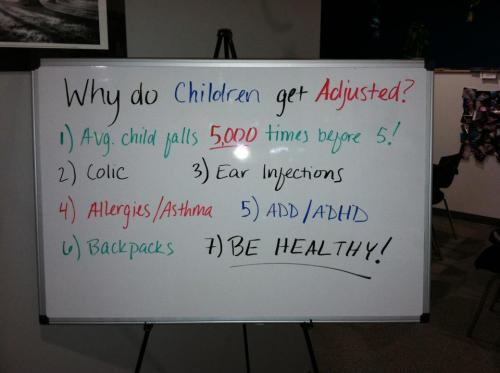 Children and Adjustments - Why
