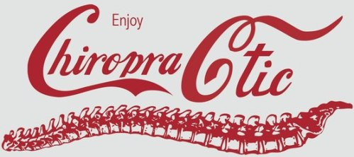 Chiropractic Coca-Cola Style