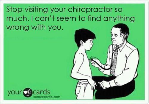 Stop Seeing Chiropractor