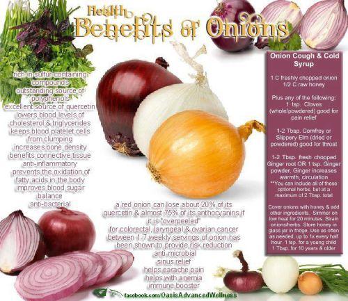 Onion Benefits